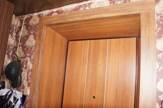 картинки отделка входной двери панелями мдф все